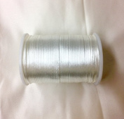 Satin Rat tail cord 2.5mm for macrame, jewellery, decorations selling per Roll/110 yard in Off White, Available in 21 Colours