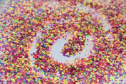Comely11 Neon Mix Glitter Hex Matte Glitter for Nail Art and Glitter Crafts