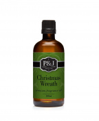 Christmas Wreath Fragrance Oil - Premium Grade Scented Oil - 100ml/3.3oz