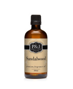 Sandalwood Fragrance Oil - Premium Grade Scented Oil - 100ml/3.3oz