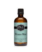 Winter Mint Fragrance Oil - Premium Grade Scented Oil - 100ml/3.3oz
