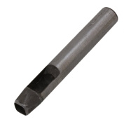 CNBTR 45# Steel Silver Square Shape 10mm Hollow Leather Punch DIY Cutter Tool