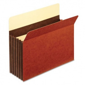 Pendaflex C1534GHD Heavy-Duty File Pockets, Letter Size - Redrope