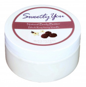 Black Raspberry Vanilla Scented Natural Body Butter by Sweetly You - 240ml Contains Aloe Vera, Jojoba, chamomile, sunflower and soybean oil, and natural beeswax. Stretch mark cream, highly emolient.