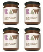 (4 PACK) - Raw Health - Org Raw Whole Almond Butter | 170g | 4 PACK BUNDLE