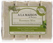 A La Maison Soap Bars, Value Pack, 4 Count