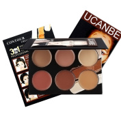 Ucanbe Contour Kit Contouring Highlighting Makeup Foundation Concealer Cream Palette