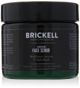 Brickell Men's Products Renewing Face Scrub, 60ml
