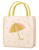 Groovy Holidays Felt Umbrella White Gift Bag