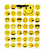 Emoji Tote Gift Bag, Medium, 4 x 10 x 8 nches