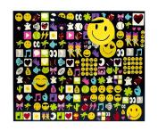 Emoji Tote Gift Bag, Large, 5 x 25cm x 32cm