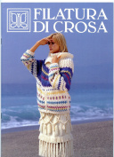 Filatura Di Crosa - 2002 Italian Language Knitting Pattern Book - Aurea Filcrosa