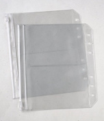 KnitPro KP10706 | Translucent Double Pocket Ring Binder Insert | 2 pack