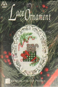 Kitty - Counted Cross Stitch Lace Ornament Kit