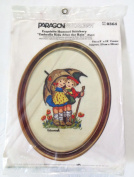 "Paragon Needlecraft Exquisite Hummel Stitchery ""Umbrella Kids After the Rain"" #0364"