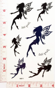 Angels Temporary Waterproof Tattoo Art Body Stickers Removable Fashion Henna Tattoo Inspired Sticker Gifts by Magic movement