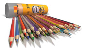 Coloured Pencils For Adults & Kids [36 Pack] ★ Premium Colouring Pencils For Adult Colouring Books And Drawing