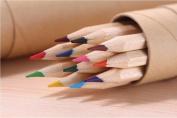 GH8 12-colour Coloured Pencils/ Drawing Pencils for Sketch/Secret Garden Colouring Book