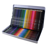 Bringsine Professional Coloured Pencils for Kids Adult Colouring -Colouring Pencils with Tin case Non-toxic Drawing Pencils for Artist Sketch,Secret Garden Colouring Book (Not Included) Assorted 72