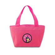 Caroline's Treasures SS4771-PK Doberman Lunch or Doggie Bag, Large, Pink