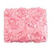 Fanala Infant Baby 3D Photography Photo Props Rose Flower Backdrop Blanket Rug 10 Colour