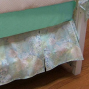 bkb Crib Skirt, Serenity