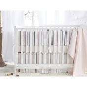 Coyuchi Organic Crib Set - Blossom Bedding Collection - White Fitted Sheet