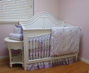 bkb Crib Bedding Set, Lofty Lilac