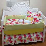 bkb Crib Bedding Set, Many Mums