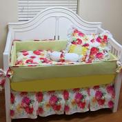 bkb Crib Bedding Set, Many Mums