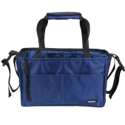Damero Insert Organiser (Sewn to the Bottom) for Women's Bag / Nappy Bag with Handles and Stroller Straps