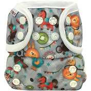 Bummis All-In-One Cloth Nappy - One Size - 3.6-16kg - Circus