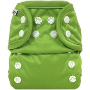 Bummis All-In-One Cloth Nappy - One Size - 3.6-16kg - Green