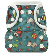 Bummis All-In-One Cloth Nappy - One Size - 3.6-16kg - Forest Animals