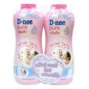 D-NEE BABY POWDER PINK 450G. PACK2. BY KK SHOP