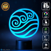 Avatar Water Lighting Decor Gadget Lamp + Sticker Decor for Perfect Set, Awesome Gift