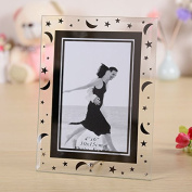 (5 units/pack) Gift garden 4 by 6 -Inch Picture Frame -Modern Glass Frames for Home GPF002