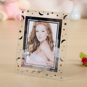 (5 units/pack) Gift garden 3.5 by 5 -Inch Picture Frame -Modern Glass Frames for Home GPF002