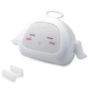 Dlife Cute Angel Design Light Sensor White Light LED Night light Softlight for Baby Room, Bedroom, Nursery, Outdoor