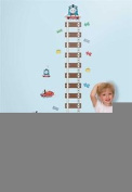 Lunarland THOMAS the TRAIN Growth Chart Wall Stickers KIDS Room Decor Vinyl Decals TRACKS