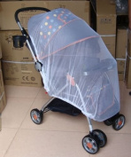 150cm Kits Infant Mosquito Curtain Insect Net For Baby Stroller Pushchair Buggy