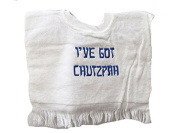 "Alef Judaica ""I've Got Chutzpah"" Bib"