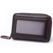 TPYL Genuine Leather Women Credit Card Case Wallets Mini Design Driver Licence Purses