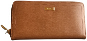 Lauren Ralph Lauren Lowell Genuine Leather Wallet Brown