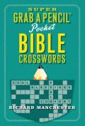 Super Grab a Pencil Pocket Bible Crosswords