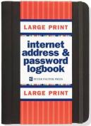 Large Print Internet Address & Password Logbook