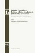 Selected Papers from Building a Better New Zealand (Bbnz 2014) Conference