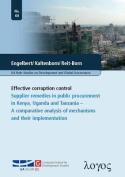 Effective Corruption Control