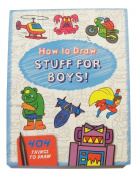 Educational How to Draw Book ~ Stuff for Boys