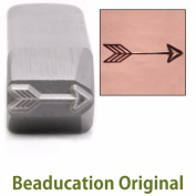 Large Classic Arrow Metal Design Stamp- Beaducation Original